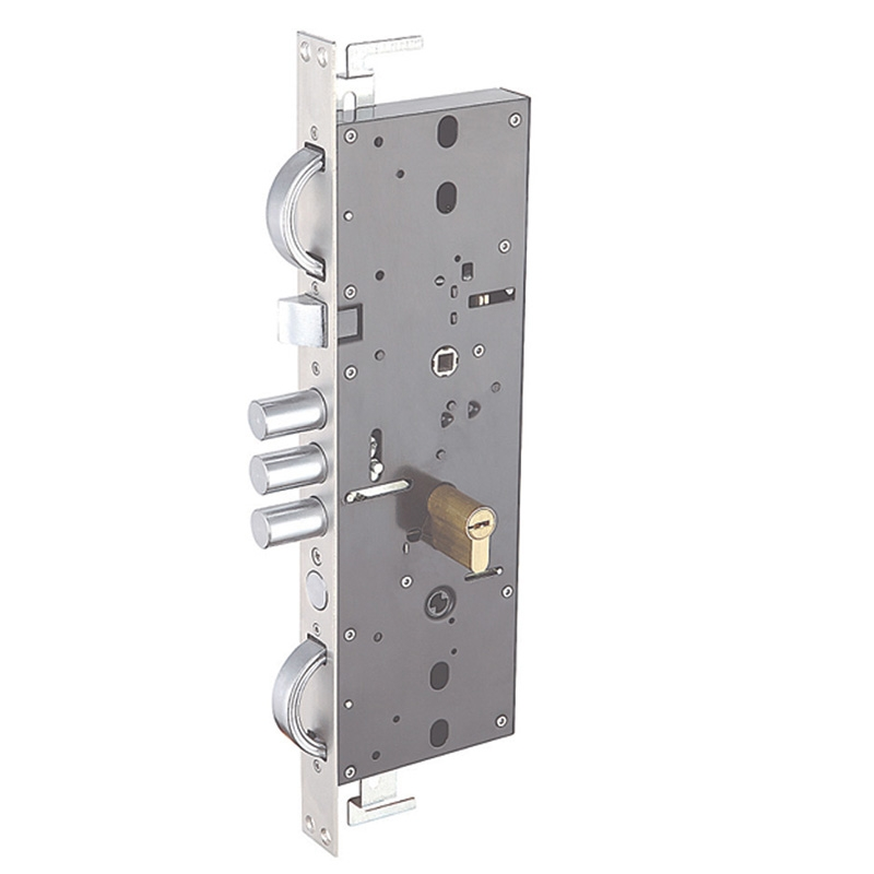 Double hook cylinder lock